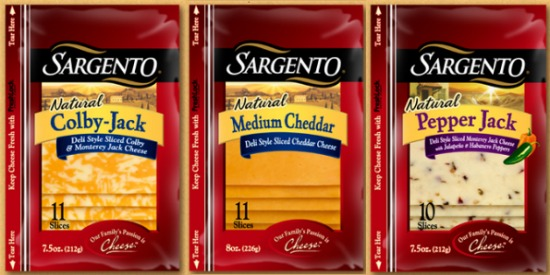 Sargento Natural Cheese Slices Coupon – $1/2