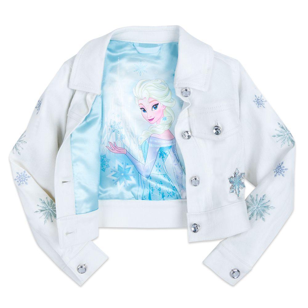 Girls Disney Frozen Denim Jacket Only $19.99 (Reg.$39.95)