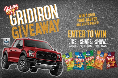 Win a 2019 Ford Raptor