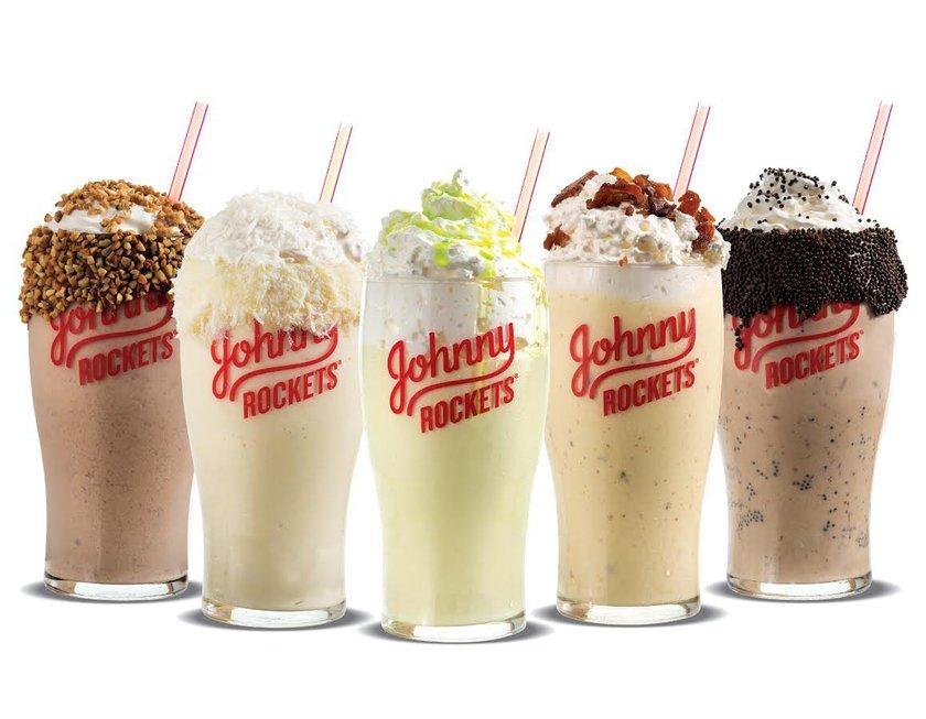 50% Off Shakes at Johnny Rockets