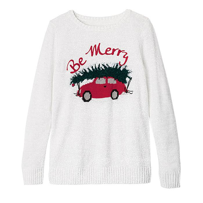 Be Merry Sweater Only $16.99 (Reg.$34.99)