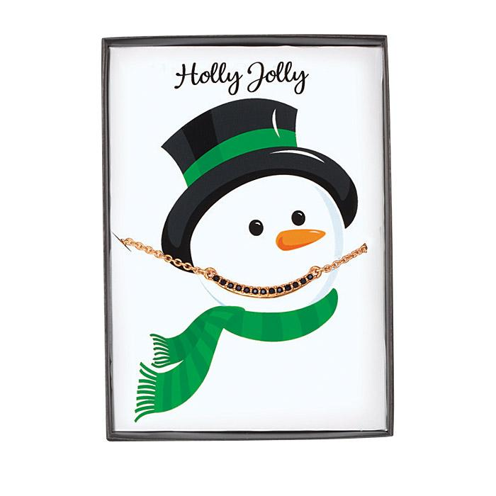 Beaded Necklace on Snowman Card Only $3.49 (Was $12.99)