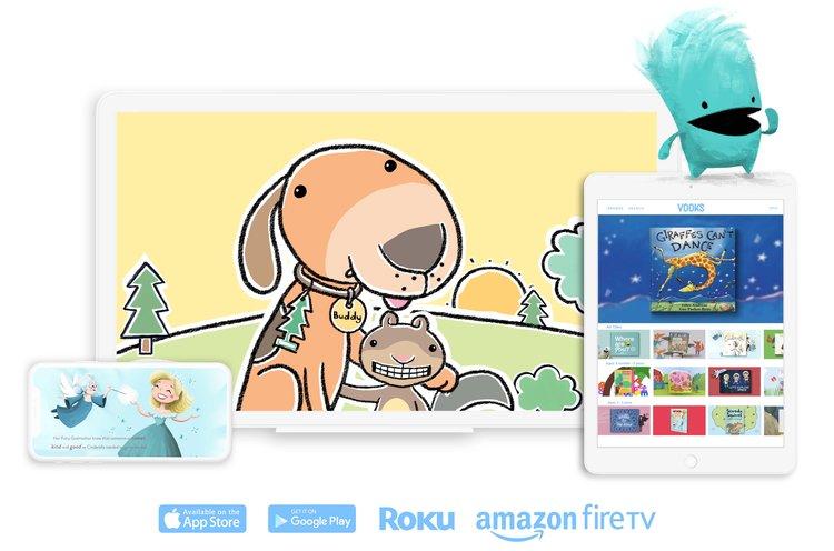 Educators – Free Year of Vooks Animated Storybooks