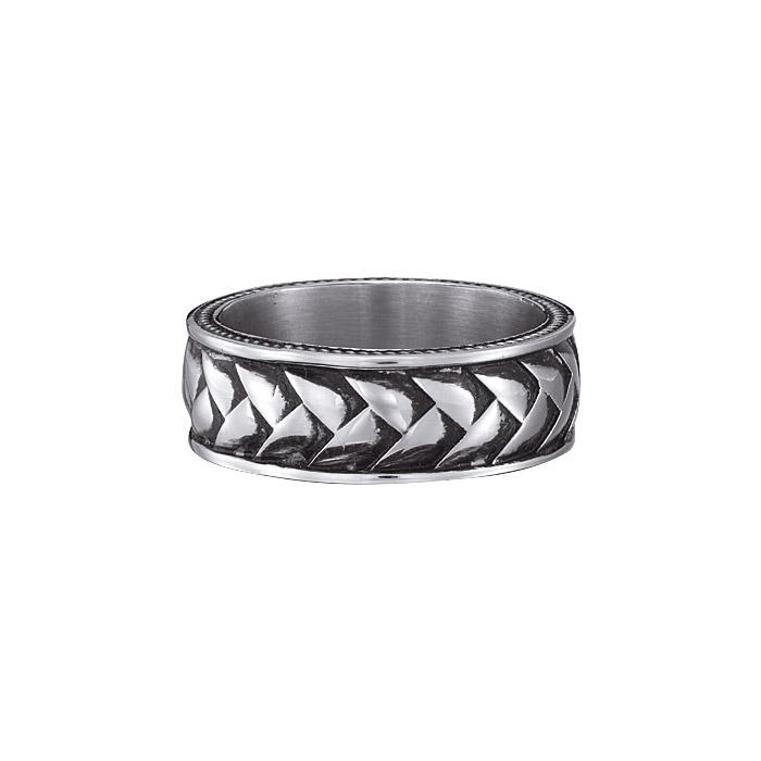 Men's Stainless Steel Braided Ring Only $11.99 (Was $29.99)