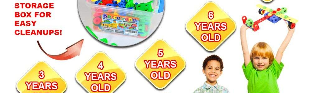 Save 55% on 163-Piece STEM Toys Kit ONLY $22.46 (Reg. $50)