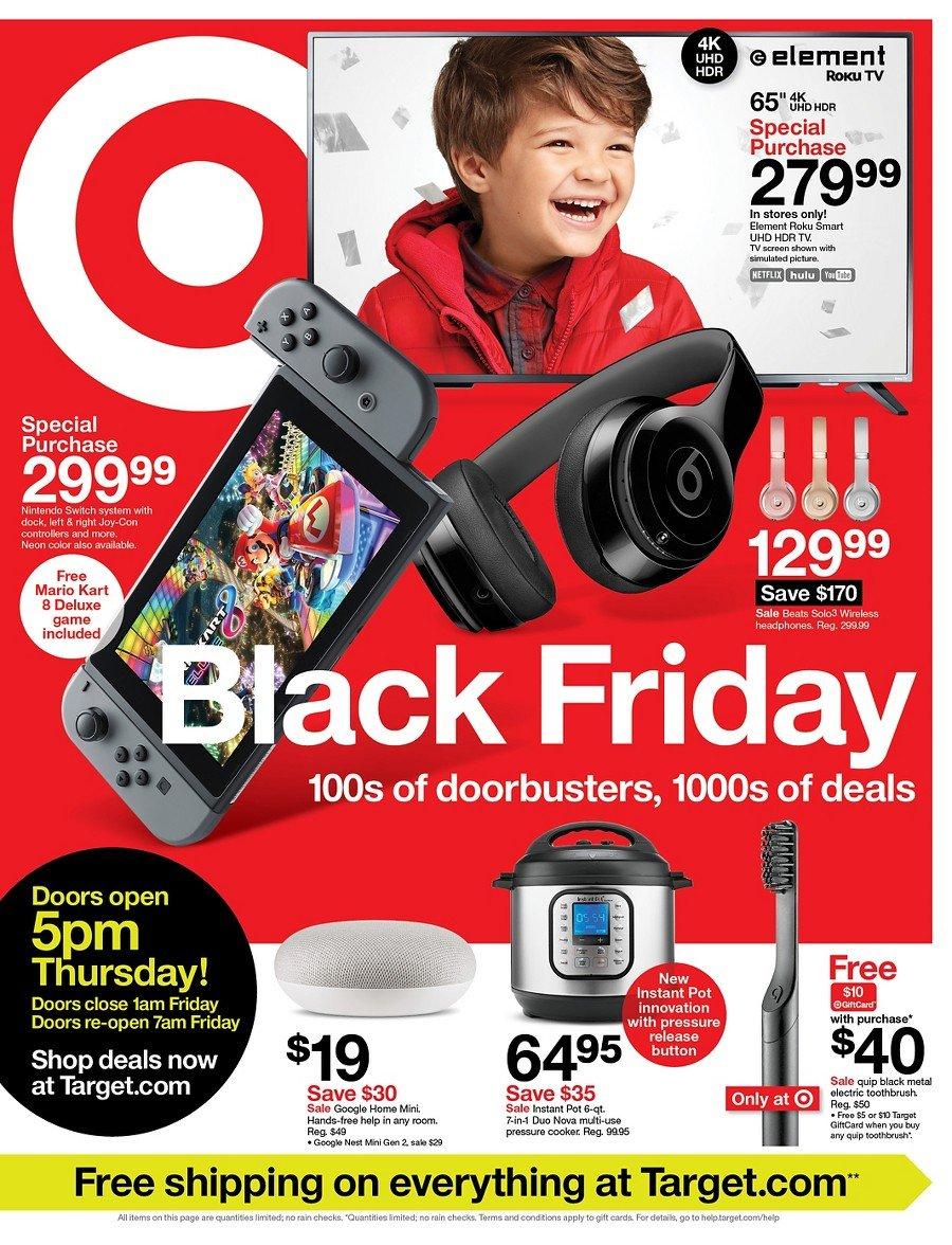 Target Black Friday Ad 2019