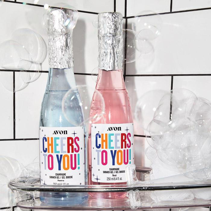 Cheers to You! Champagne Shower Gel Only $7