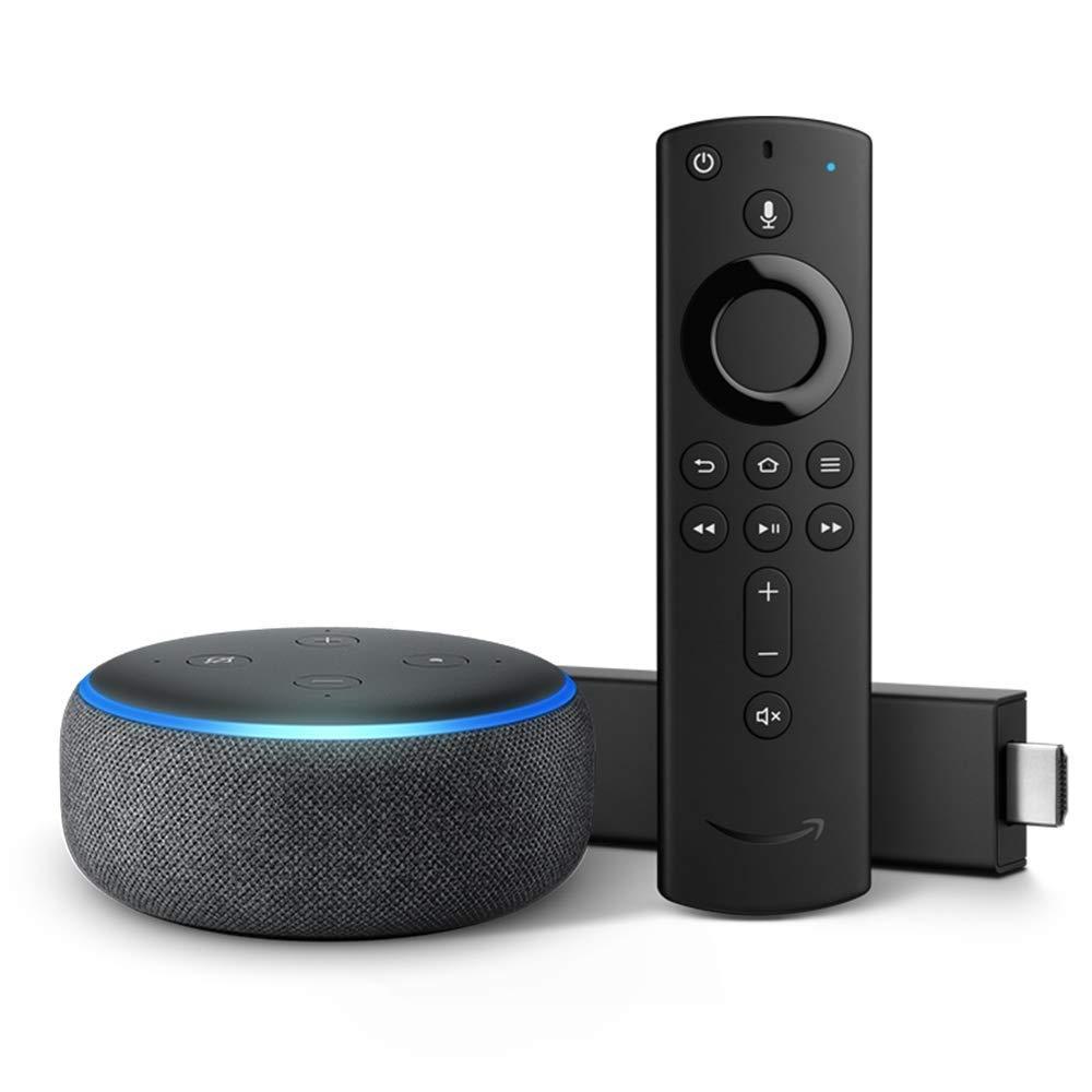 Fire TV Stick 4K Bundle with Echo Dot ONLY $59.98 (Reg. $100)
