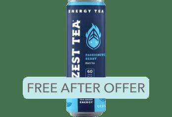 Free Zest Tea Sparkling Tea at Select Stores
