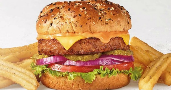 Free Beyond Burger with Any Drink Purchase at Denny's – Today