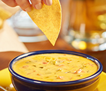 Free Bowl of Queso at On the Border TODAY