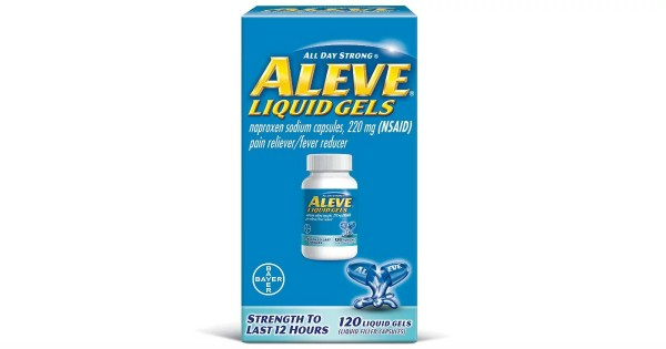 Aleve Liquid Gels 120-Count ONLY $7.74 (Shipped (Reg $21)