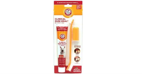 Arm & Hammer Dental Gum Health Kit for Dogs ONLY $1.88 (Reg $14)