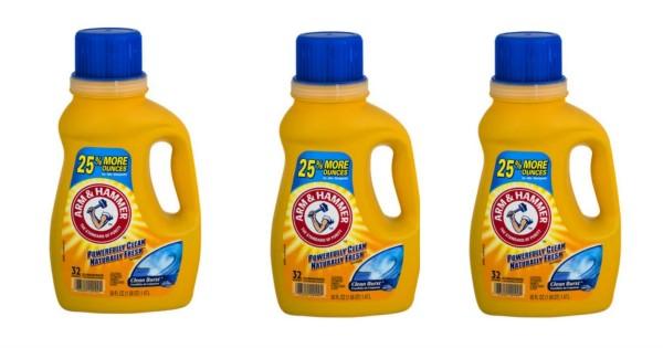 Arm & Hammer Liquid Laundry Detergent ONLY $1.87 at Walmart