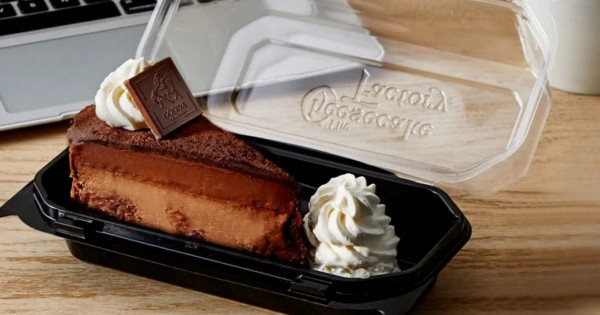 Free Slice of Cheesecake from Cheesecake Factory & Free Delivery