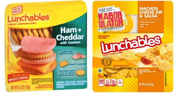 Oscar Mayer Lunchables ONLY $1 Each at Target
