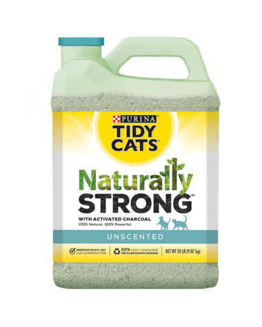 Save $2.00/1 Purina TIDY CATS Naturally Strong Clumping Cat Litter