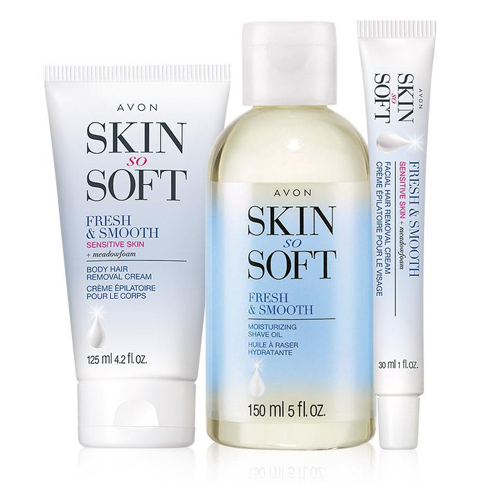 Skin So Soft Fresh & Smooth Hair Removal Trio Only $14.49 ($33 Value) + FREE Samples