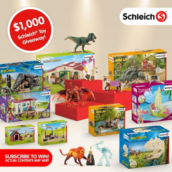 Win $1,000 Worth of Schleich Toys
