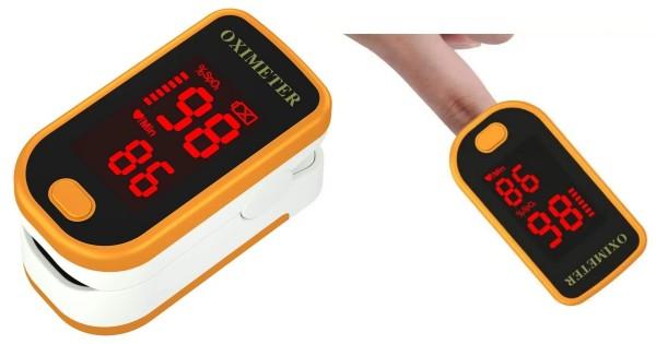 Fingertip Oximeter Heart Rate Monitor ONLY $35 Shipped (Reg $50)