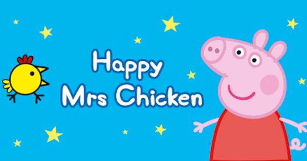 Free Peppa Pig Mrs. Happy Chicken App