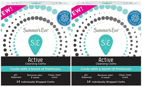 Target Deal – Pay Only $0.74 For SUMMER'S EVE ACTIVE COOLING WIPES
