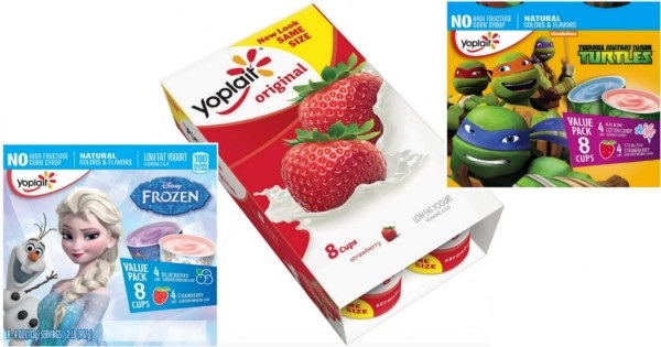 New Coupon – Save $1.50/2 Yoplait Yogurt Multipacks