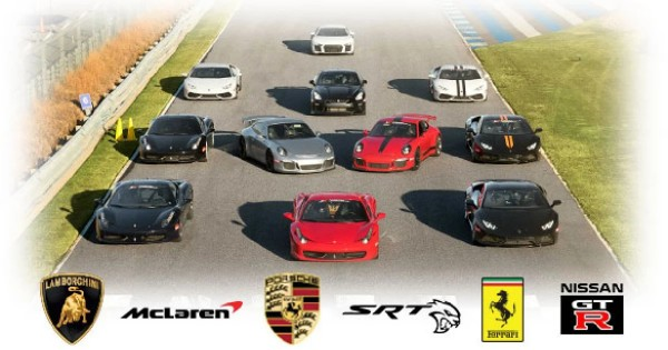 Win a $399 Supercar Track Xperience
