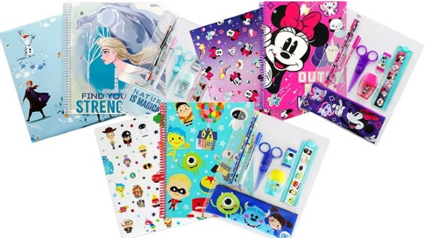 Buy 2 Get 1 FREE Select Notebooks and Disney Stationery Kits  (Starting at ONLY $3.98)