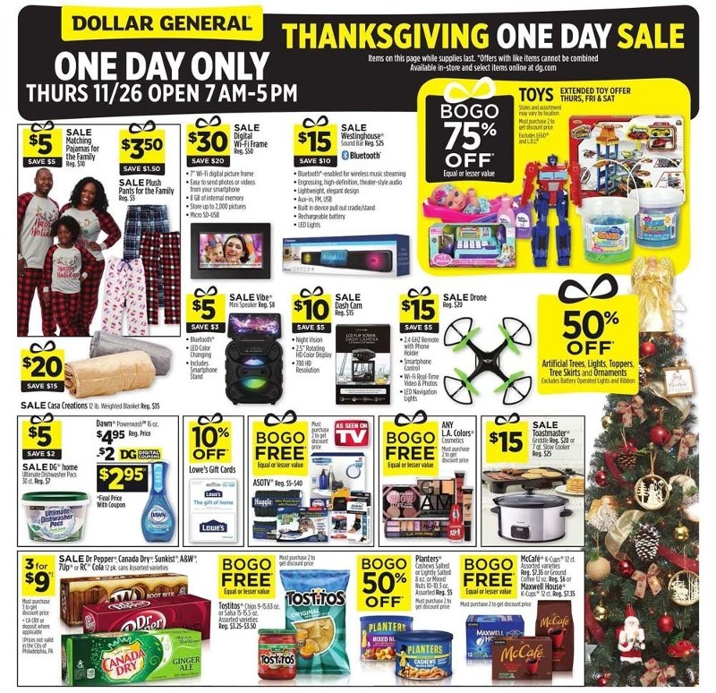 Dollar General Black Friday Ad Preview