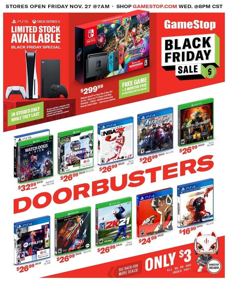 GameStop Black Friday Ad Preview