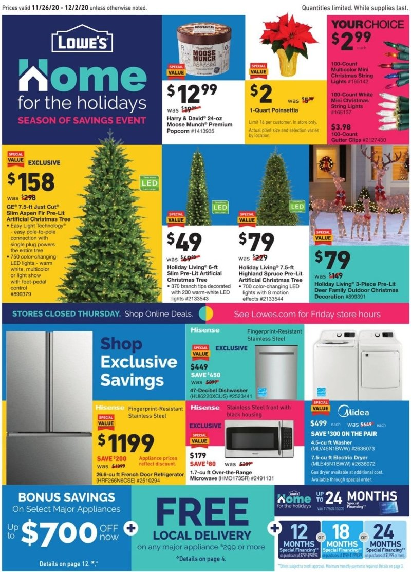Lowe's Black Friday – Cyber Monday Ad Preview