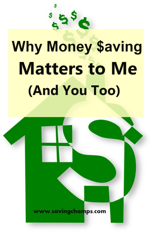 why saving money is important