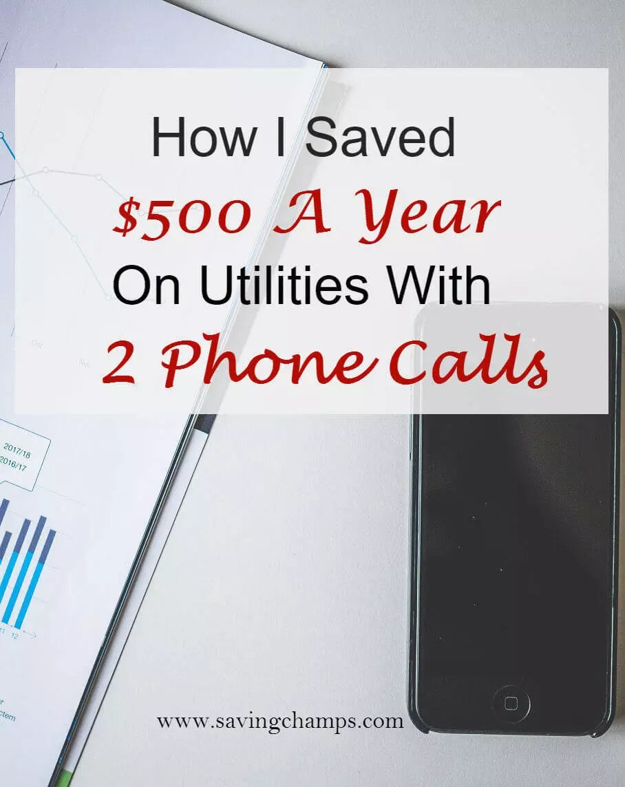 This post explains how to save money on utilities by negotiating with the utility companies to get a better deal. A few phone calls save money on utilities.