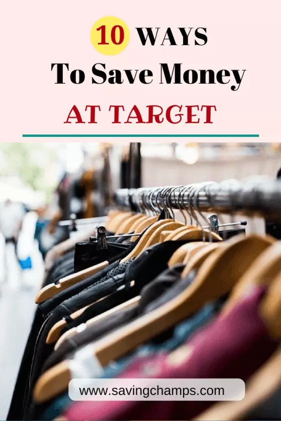 Are you a Target shopper and would like to know more about saving more when you shop there? Here are 10 ideas on how to save money at Target. | save money, money saving tips, frugal living, shopping tips.