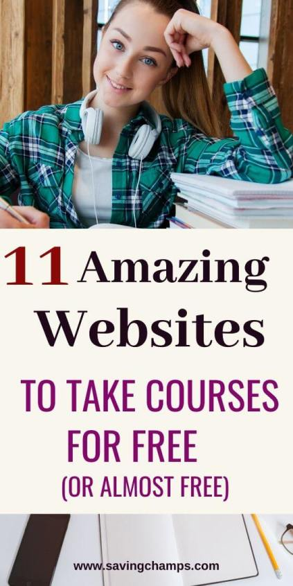 11 best websites for free online courses