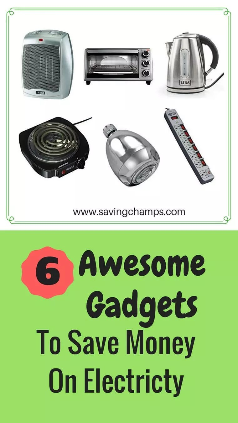 Here are six gadgets saving electricity. A guide on using gadgets to save money and lower your electricity bills. | save money on electricity, save energy, save money on utilities, gadget gift ideas, kitchen gadgets, money-saving ideas.