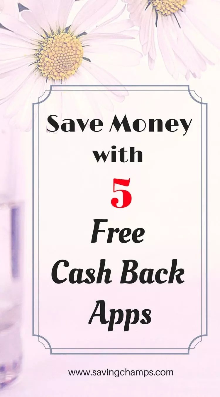 Save money with these top cash back apps (Ebates, ibotta, checkout51, savingstar, and shopkick). You can earn money from shopping.  cash back apps, , money-saving tips, money-saving ideas, frugal living.