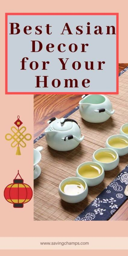 Best Asian Decor Items for Your Home