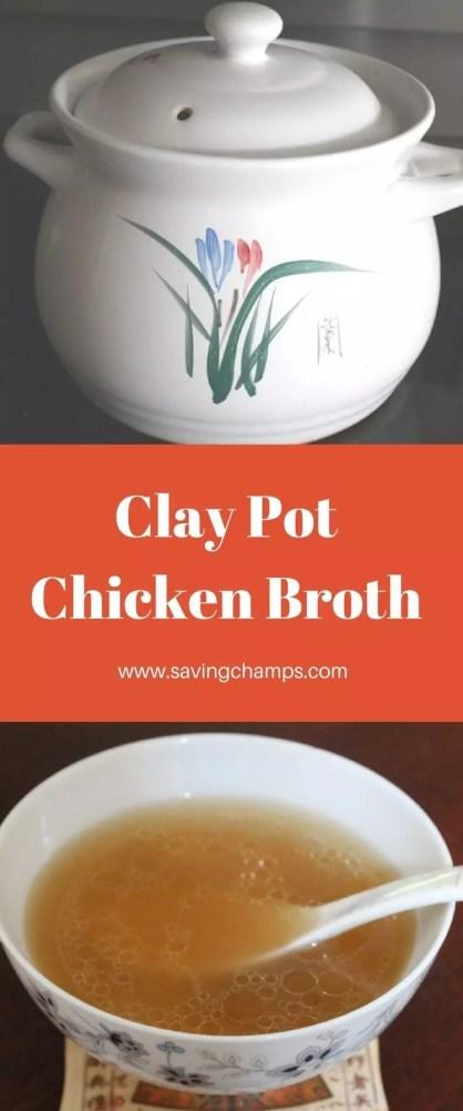 Clay Pot Chicken Broth Pin