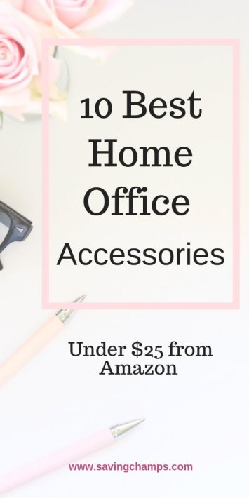 10 best home office accessaries under $25 from Amazon