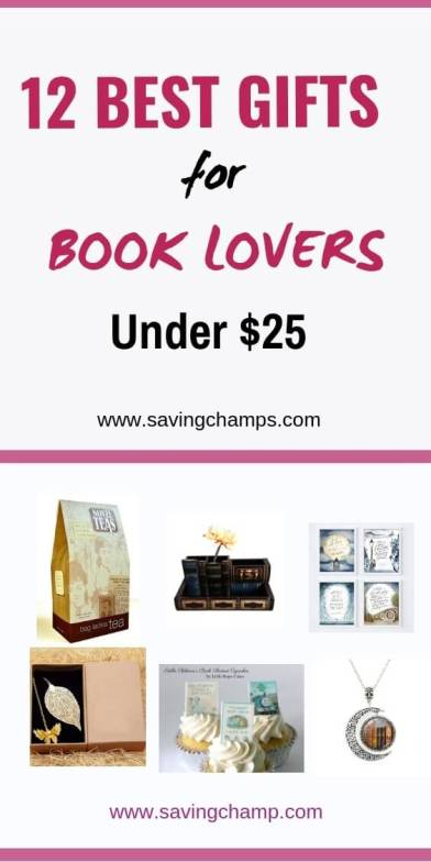 Best Gifts for Book Lovers Under $25