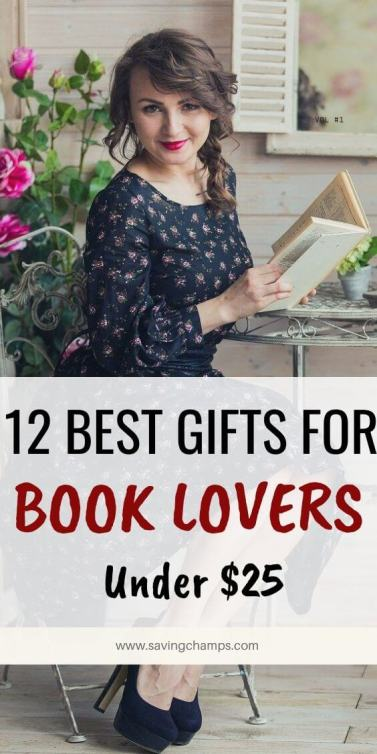 12 Best Gifts for book lovers under $25