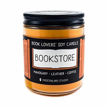 Best Gifts for Book Lovers_Book Lover's Soy Candle