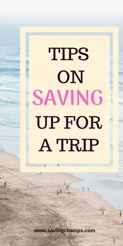saving for travel