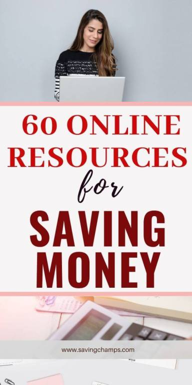 60 online resources for saving money