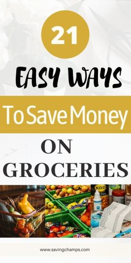 best ways to save money on groceries