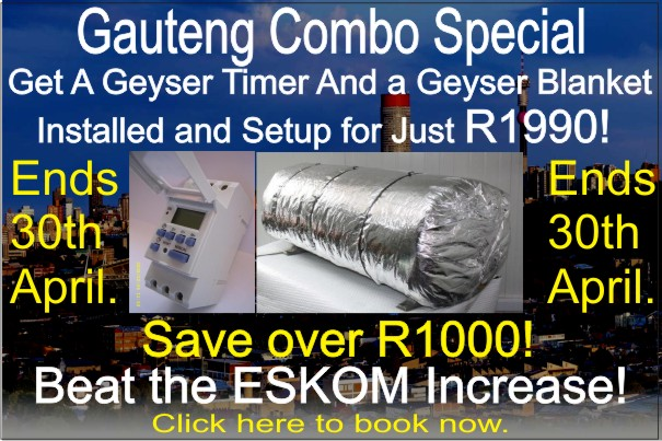 geyser timer and geyser blanket special offer
