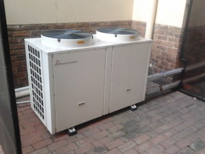 commercial heat pumps water system