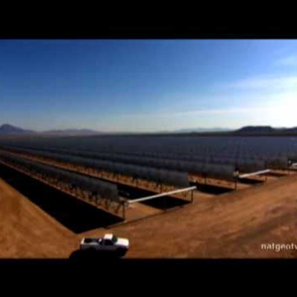 Concentrated Solar Power – Using the Sun to drive electricity generating turbines.